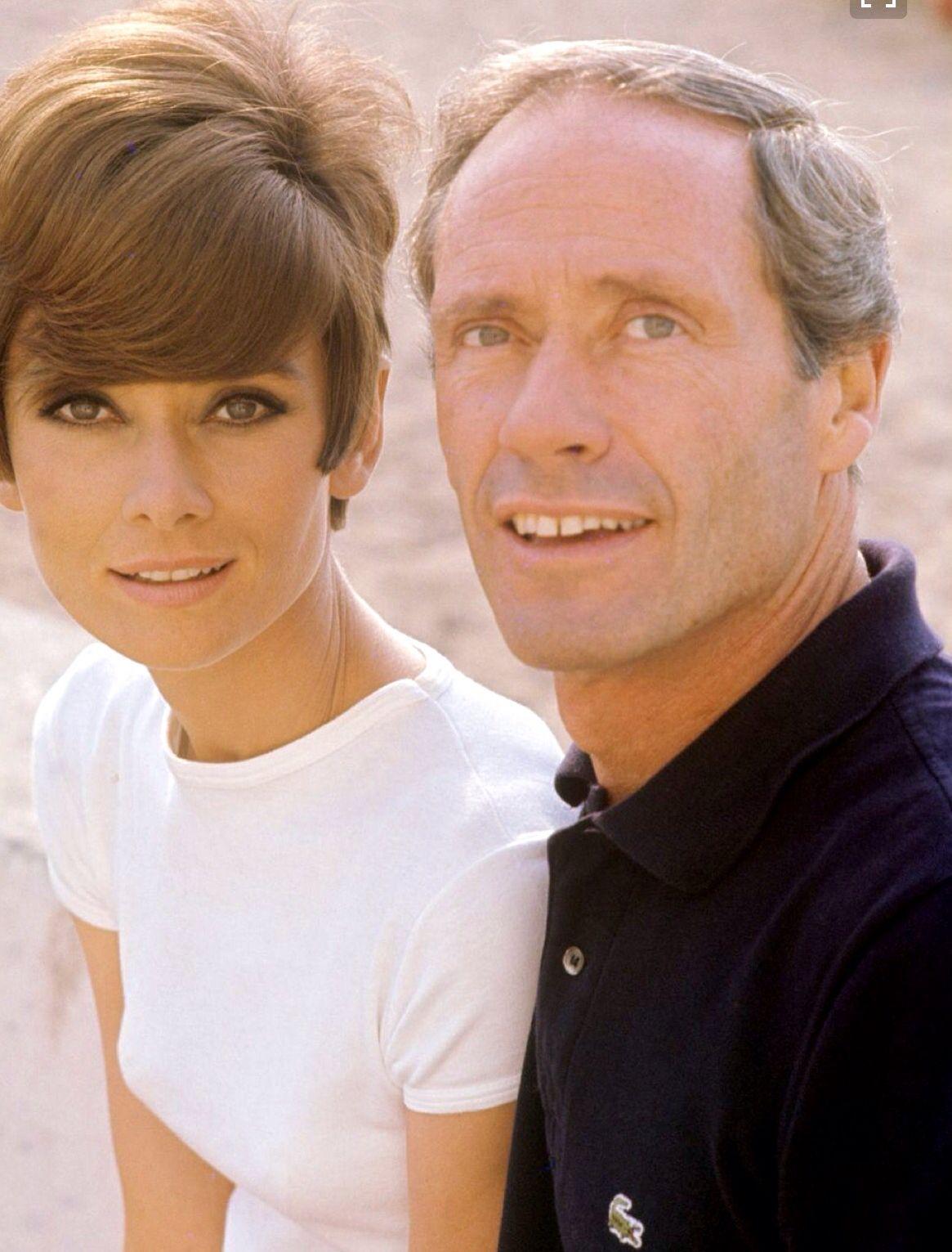 Audrey con Mel Ferrer