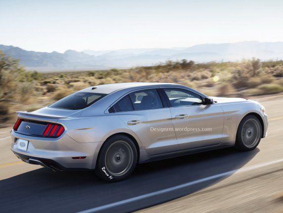 4 Door 2017 Mustang