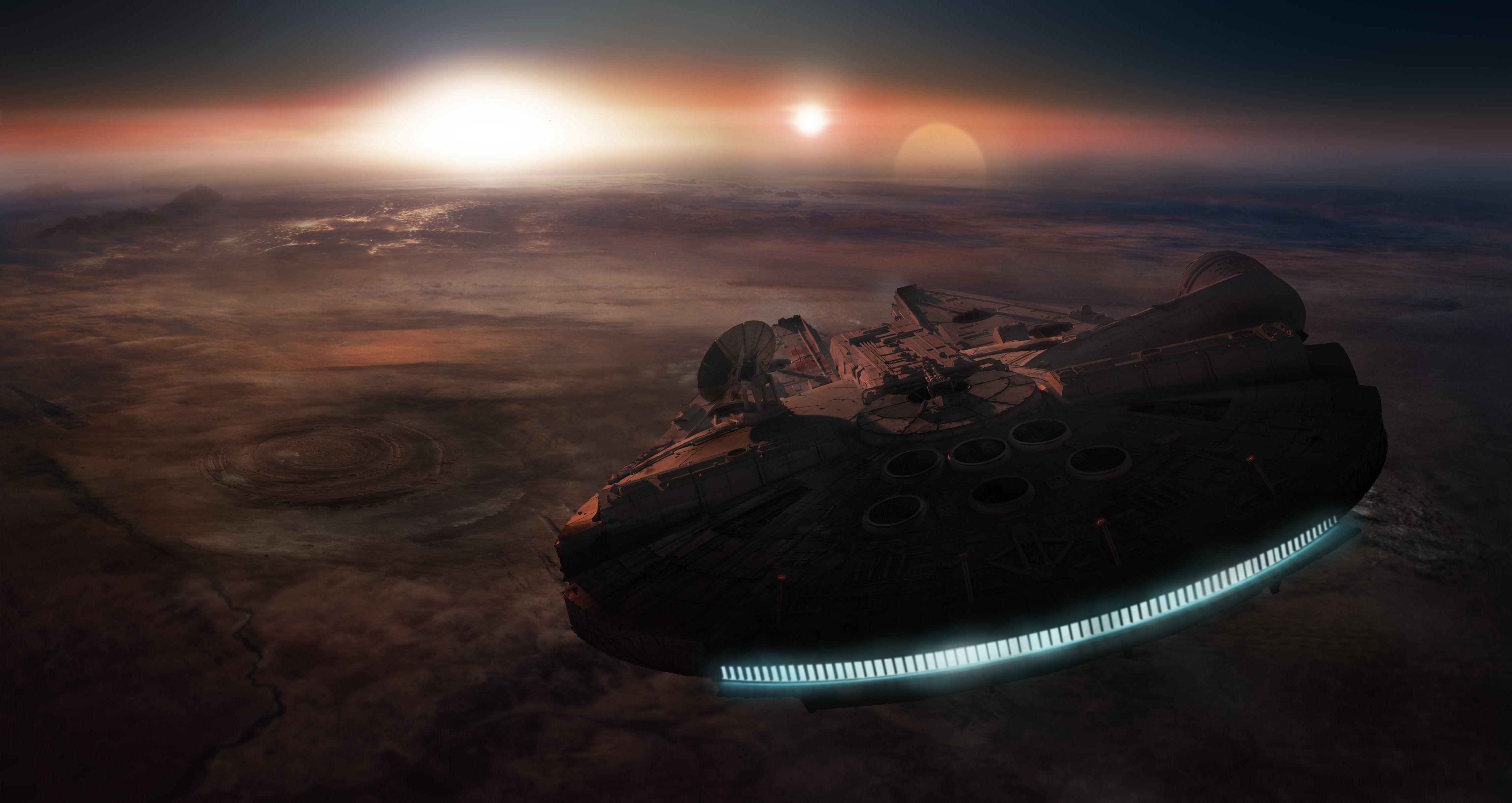 STAR WARS FORCE AWAKENS scifi action adventure disney