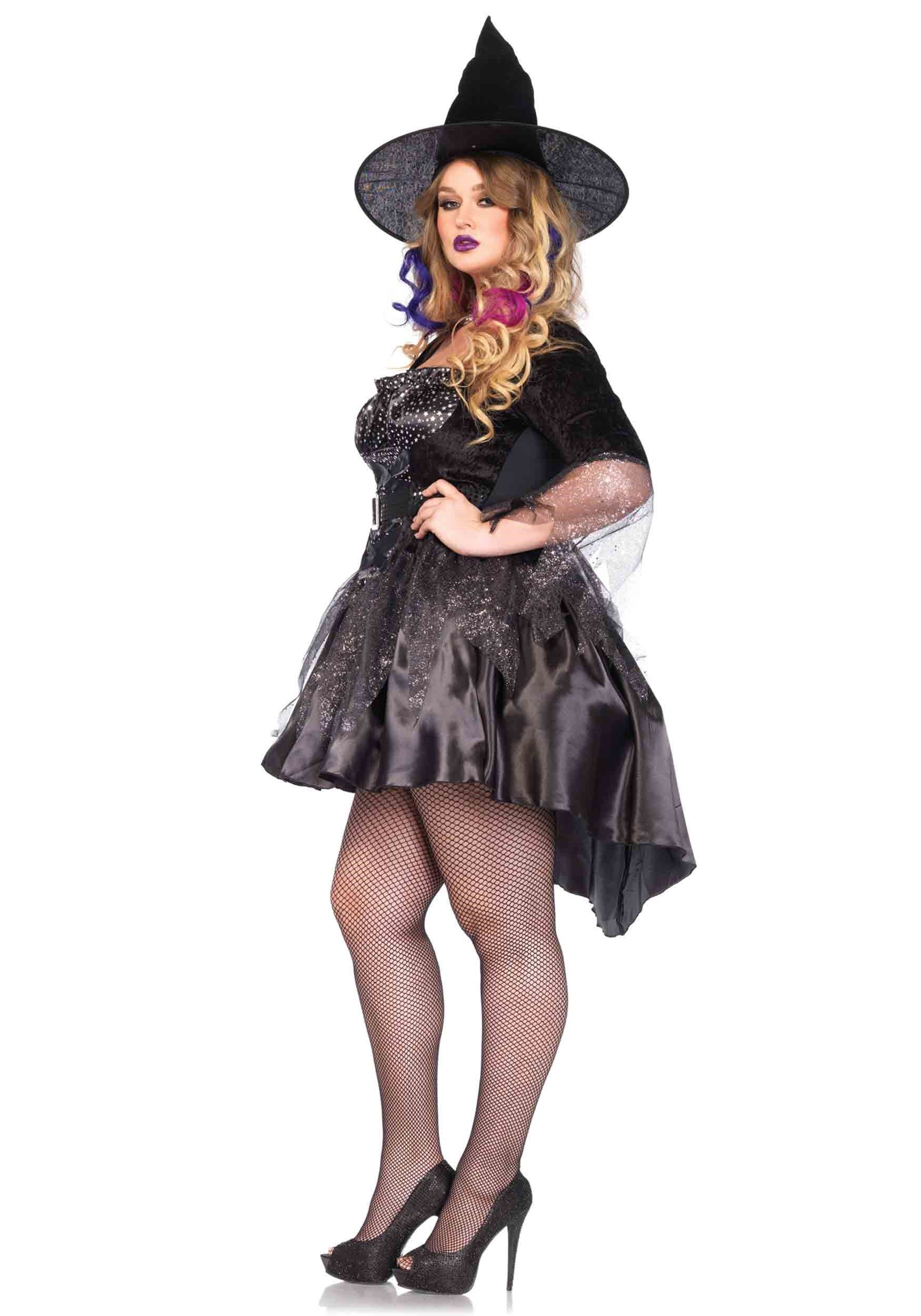 Black magic mistress black witch costume costumes for