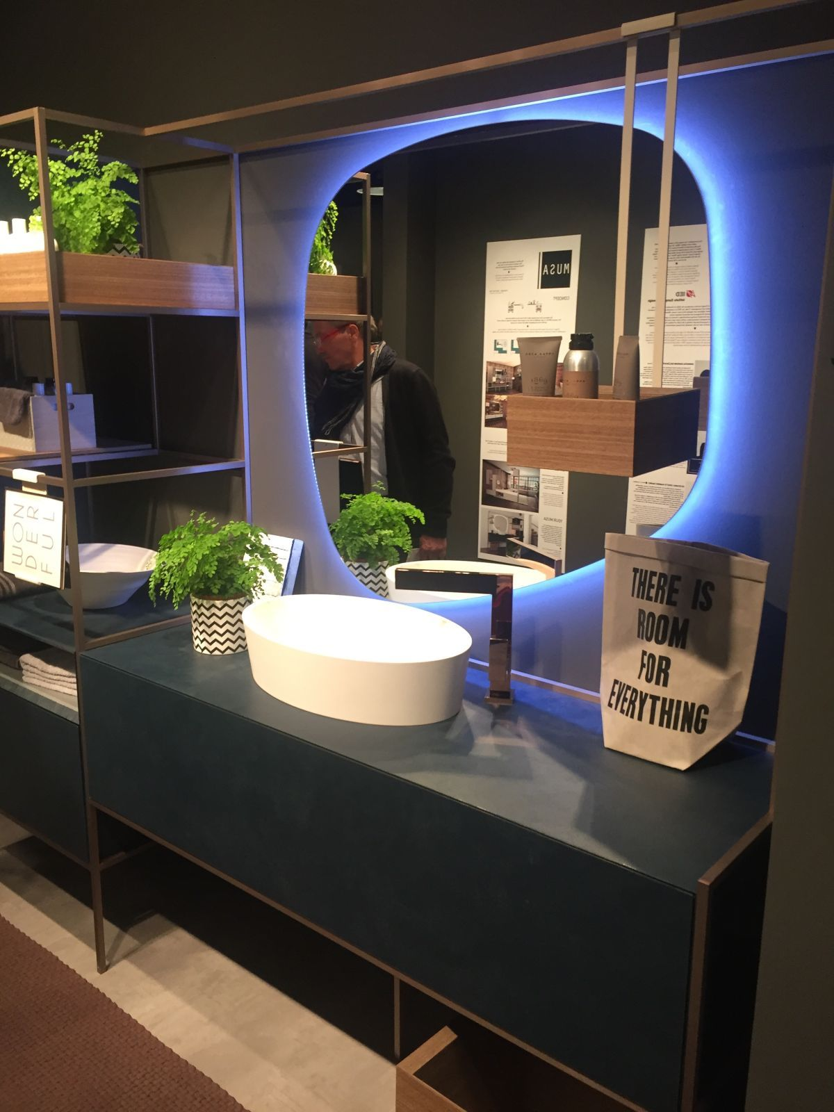 21 Bathroom Decor Ideas That Bring New Concepts To Light Bathroom Mirror Contemporary Bathrooms Bathroom Wallpaper Trends
