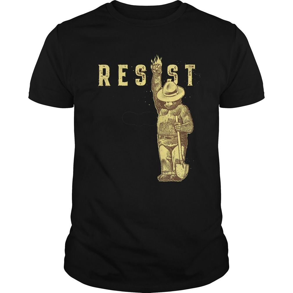 if you like this Shirt, this is the site to order from. There are sites pirating John's work and this is the official tee for any one. They are liars. Get your wearable art from the tee shirt. Smokey Says Resist will be printed in full colors. The White is basically sold out, only 1Read More