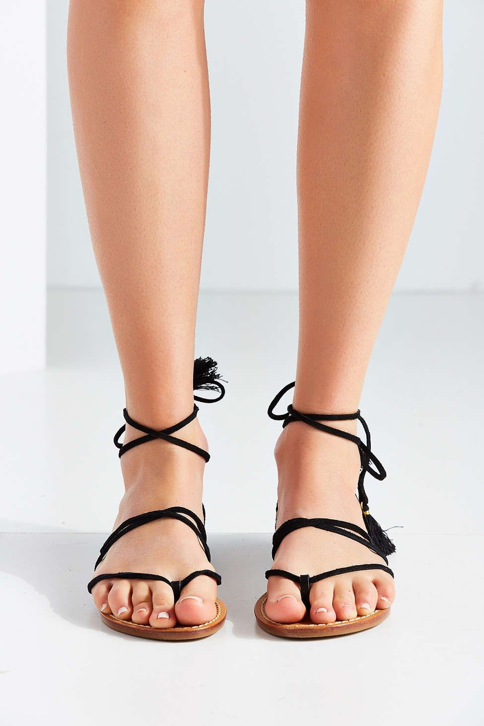 soludos gladiator lace up sandals