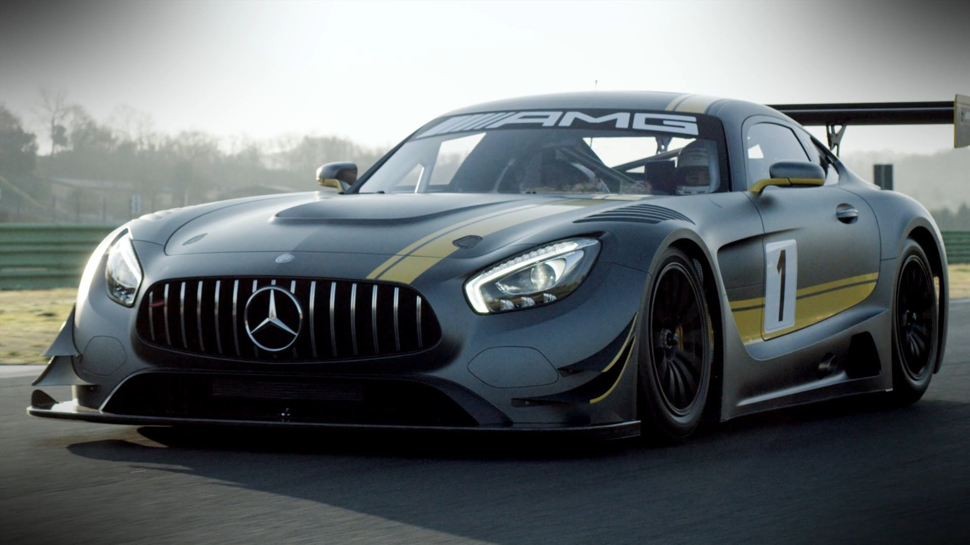 Preview of the new MercedesAMG GT MercedesBenz original YouTube