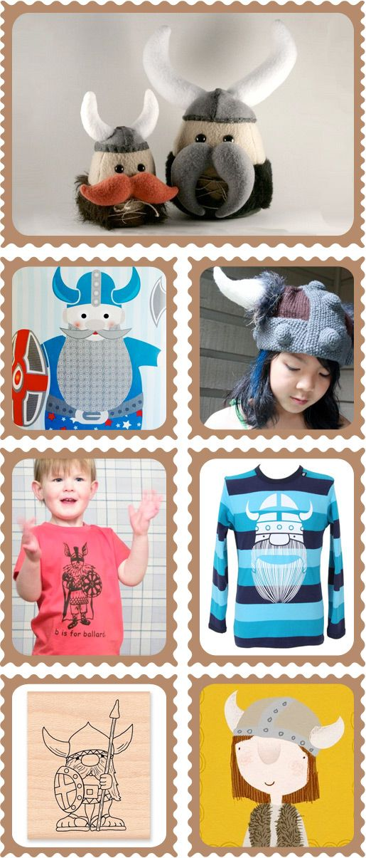 Vivacious Vikings - Presenting a collection of Viking toys, t-shirts and art for kids | KID independent – handmade for kids