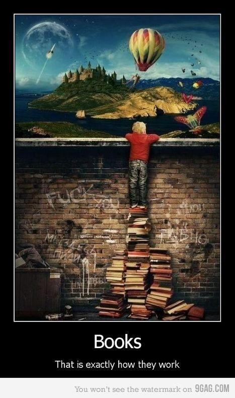 Books are a great escape