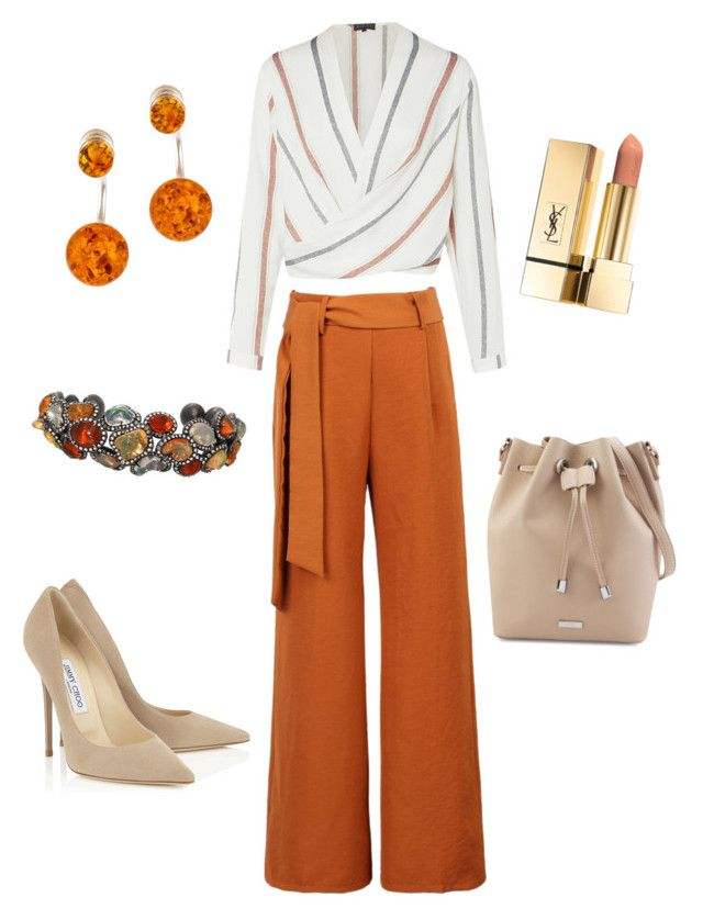 """""""Casual"""" by allonasada on Polyvore featuring WithChic, Be-Jewelled and Arunashi"""