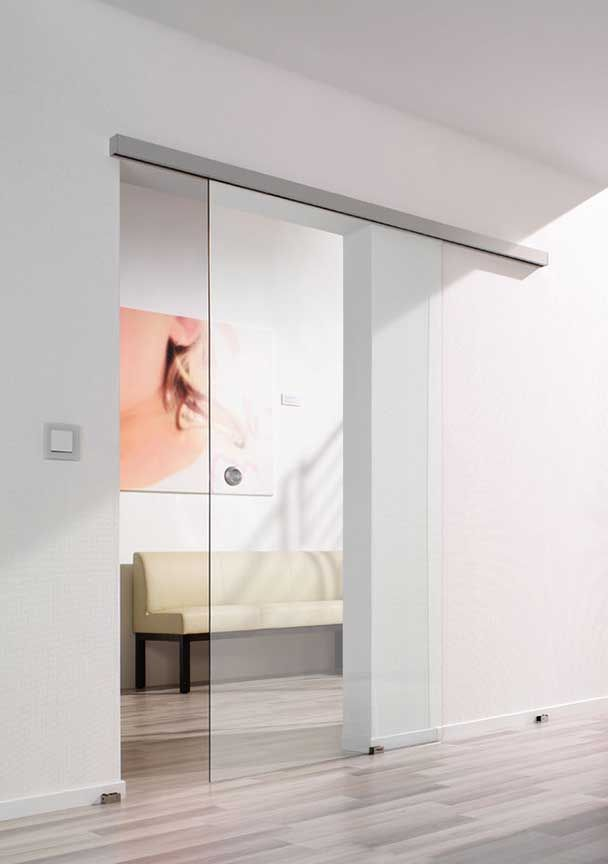 Frameless Gl Sliding Door