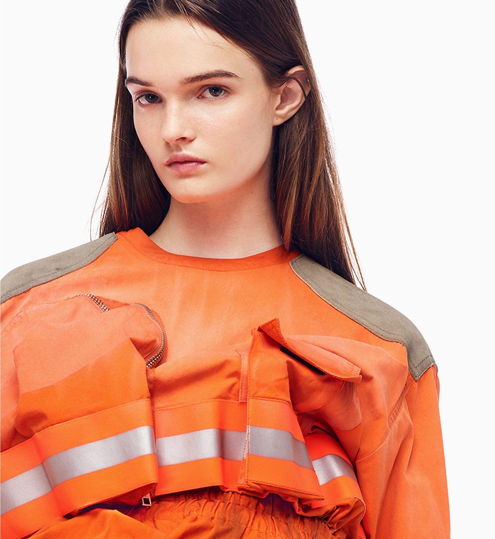 a94c1393cfe6 Distressed Fireman Jumpsuit Calvin Klein®