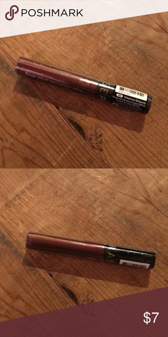 3/15💥Sephora Voluptuous Burgundy cream lip stain NWT