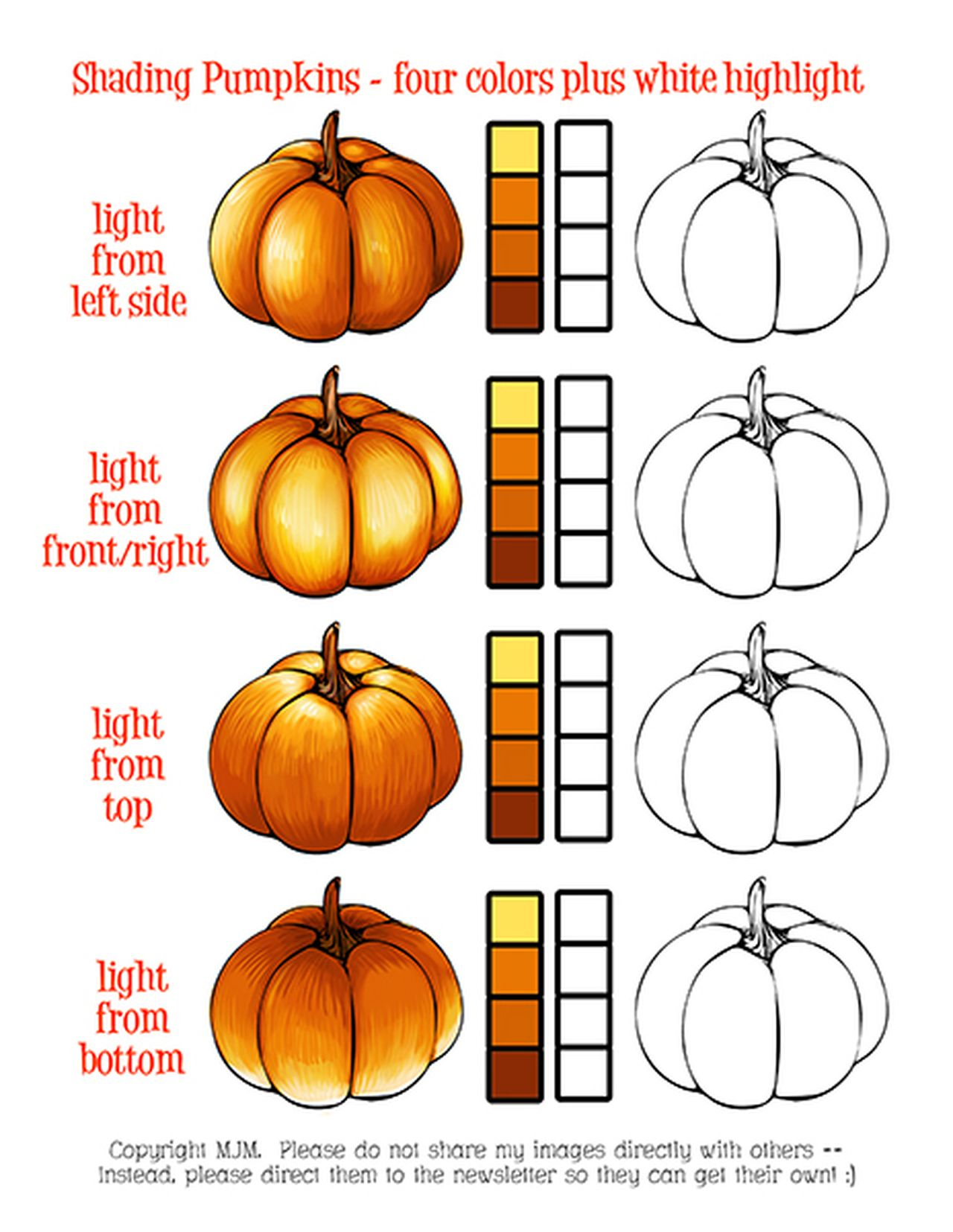 Pumpkin Practice Sheet With Images