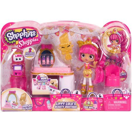 Shopkins Shoppies Lippy Lulu S Beauty Boutique Products