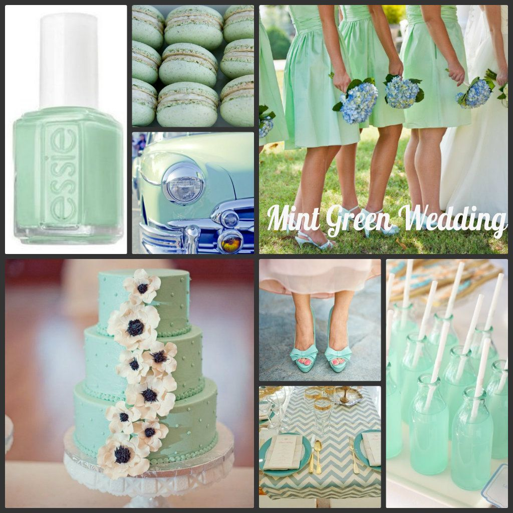 Wedding theme ideas by color  More minty ideas  Wedding uc  Pinterest  Wedding and Weddings