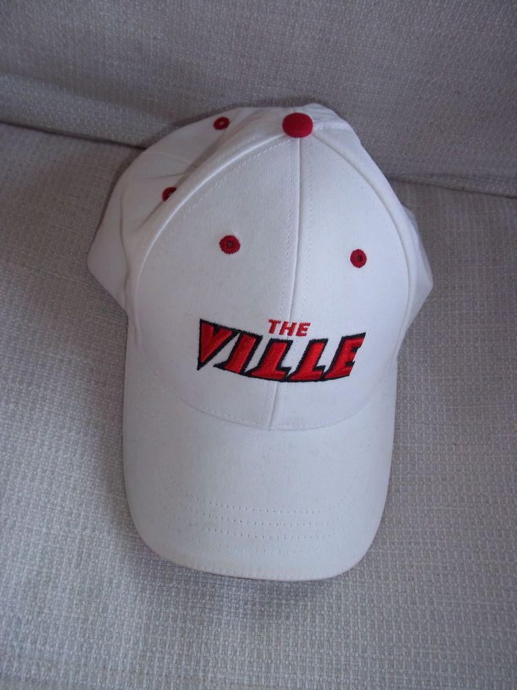 Baseball Ball Cap Louisville Cardinals University Adjustable Strap One Size #College