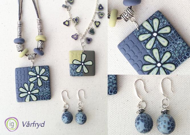 IG Smykkedesign earing and pendants