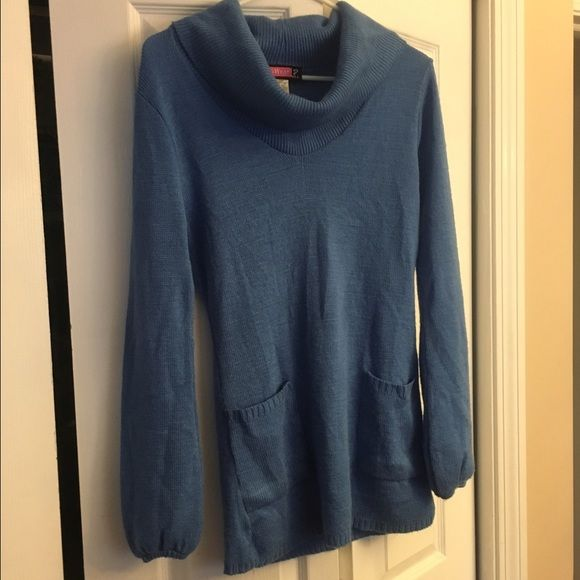 Cute Blue Tunic with Pockets Excellent condition  Say What Tops Tunics