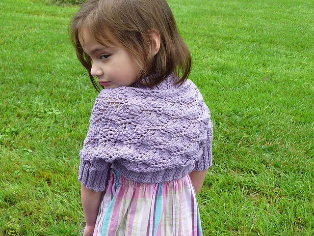 Victorian Lace Baby Shrug   Quick knits, Shrug knitting ...