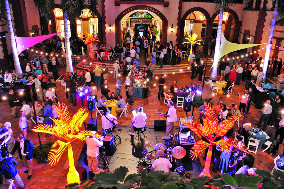 tropical event kickoff reception | ©sterling events group