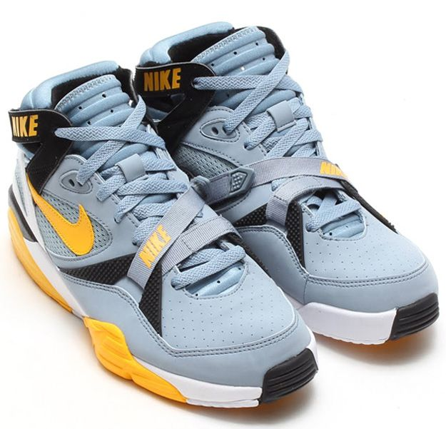 83c0f2cee967 Nike Air Trainer Max 91 Grey Stone Medium Yellow