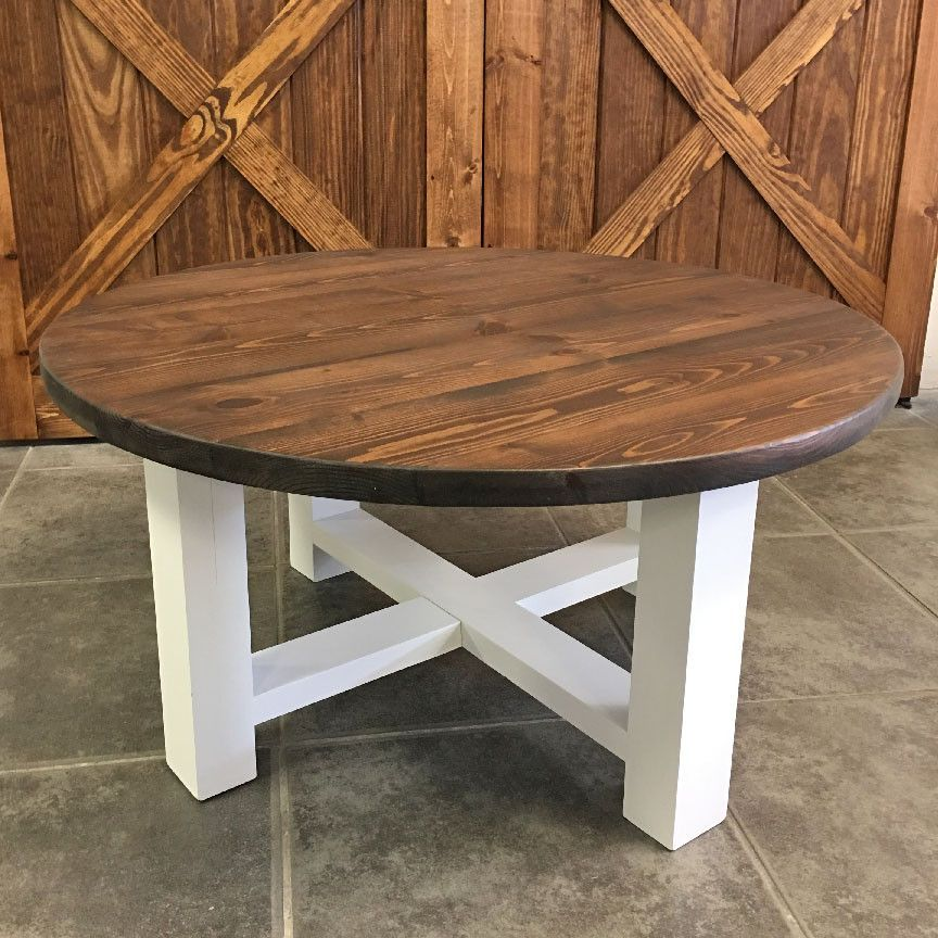 round farmhouse coffee table Round Farmhouse Coffee Table | home sweet home in 2018 | Pinterest  round farmhouse coffee table