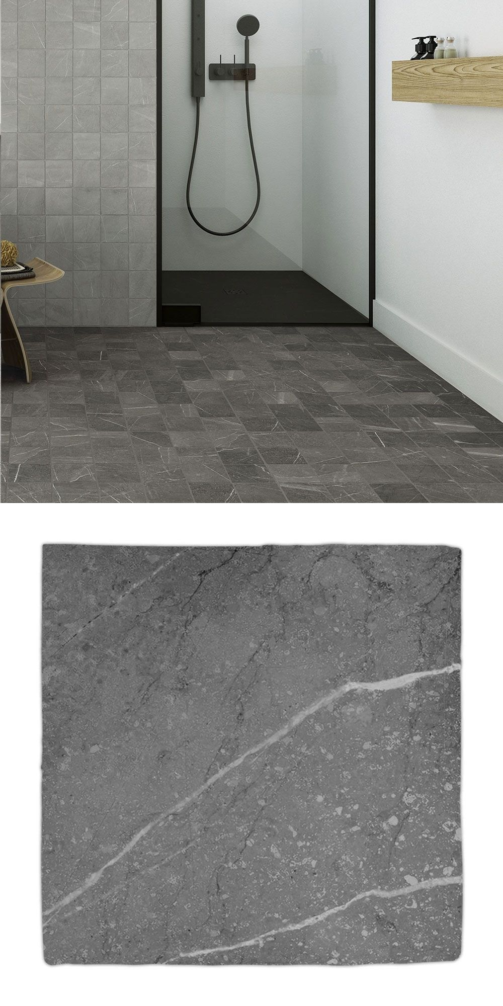 Gea Charcoal Tiles In 2020 Tiles Charcoal Hand Carved