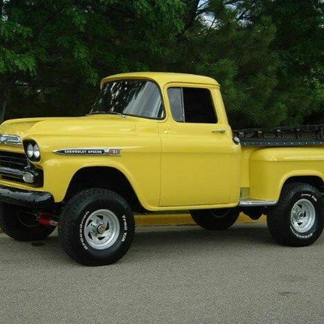 Pin By Clay Collins On Badasstrucks Vintage Trucks Old Pickup Trucks Chevrolet Apache