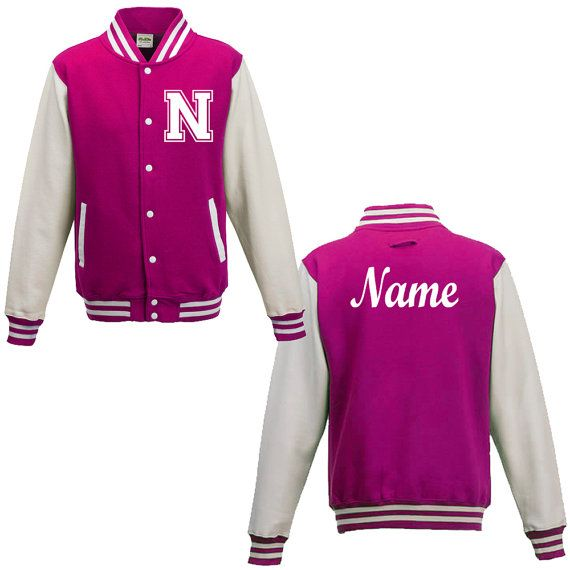 Pink NYC Varsity Jacket | Fall Fashion | Pinterest | Nyc Hooded