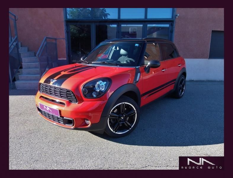 Voiture Occasion Mini Countryman Cooper S 184cv All4 Red Hot Chili
