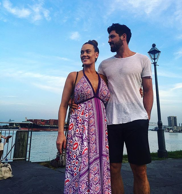 Pin for Later: Maksim Chmerkovskiy and Peta Murgatroyd's Romance Is as Sexy as Their Dance Moves  In August 2016, the pair kept things casual for their day off in New Orleans.