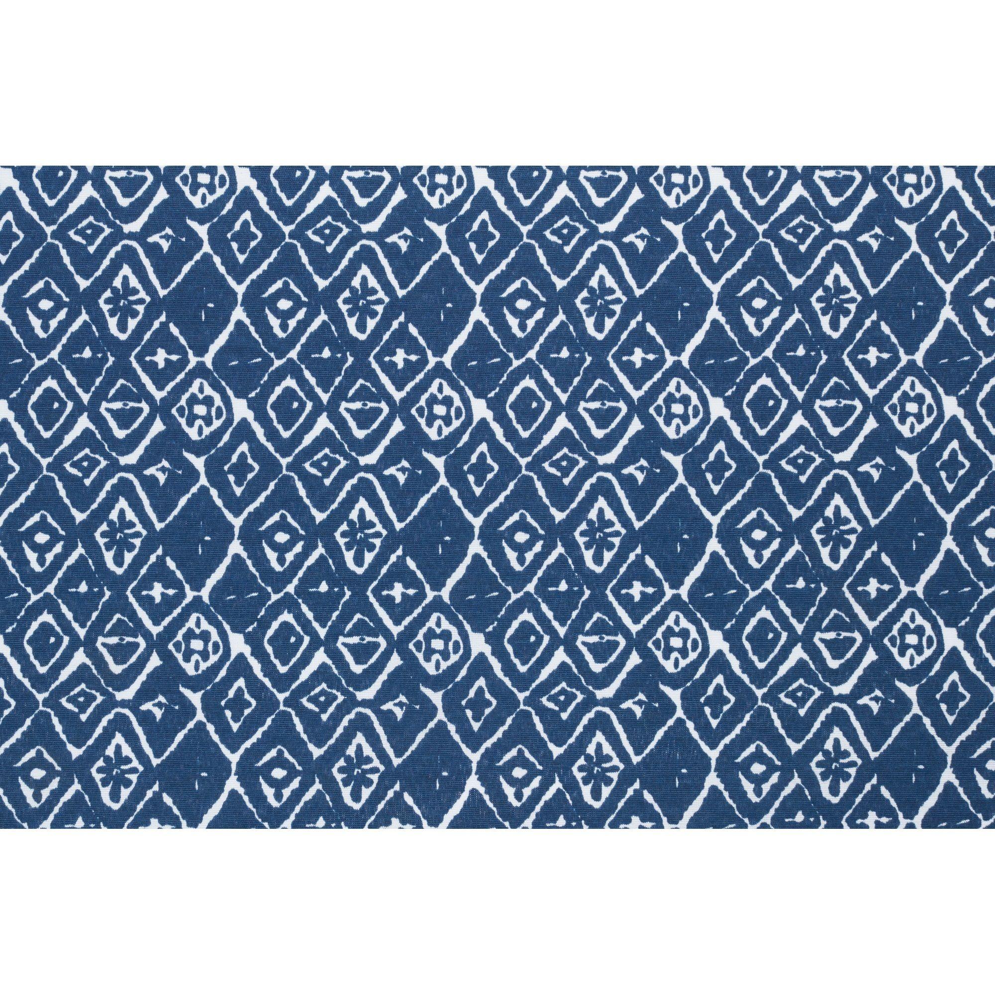 Stof met ruitdessin. Kleur: blauw. 140 cm breed. Deze stof is ...