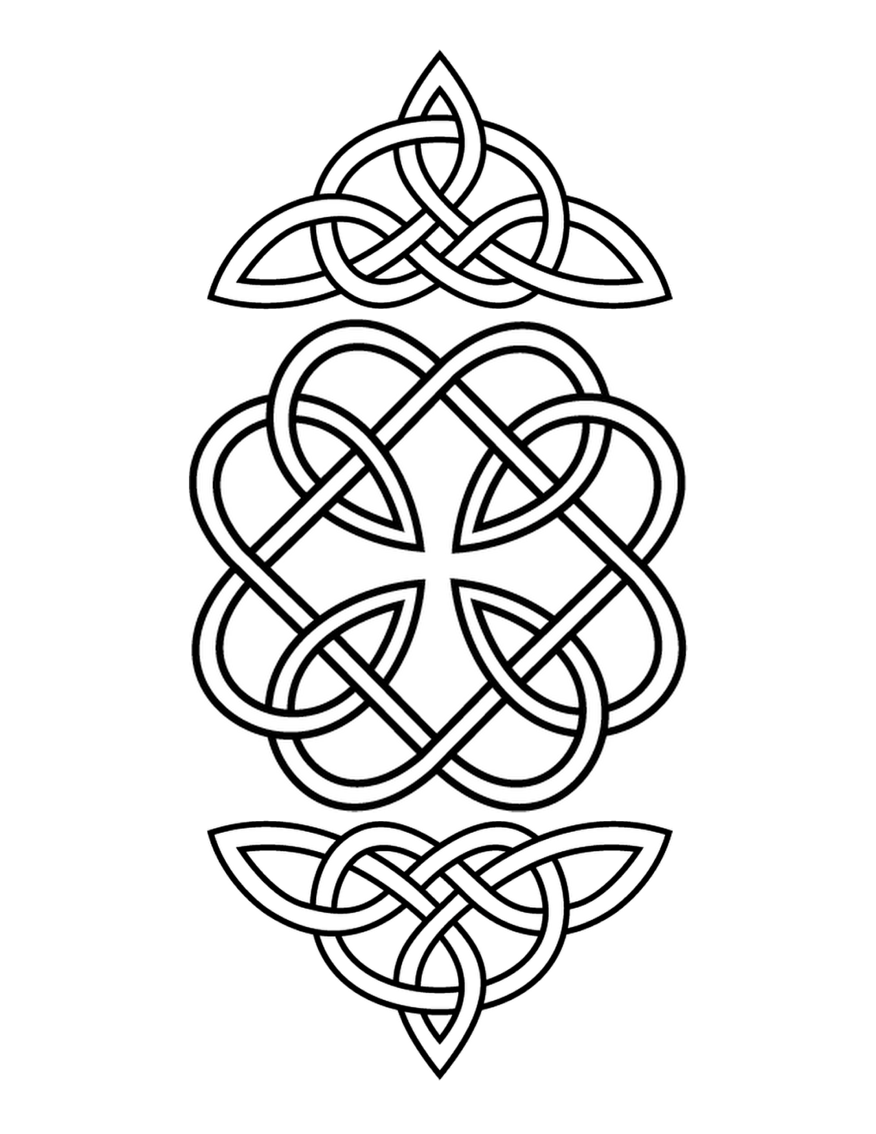 simple celtic designs - HD 1200×1553