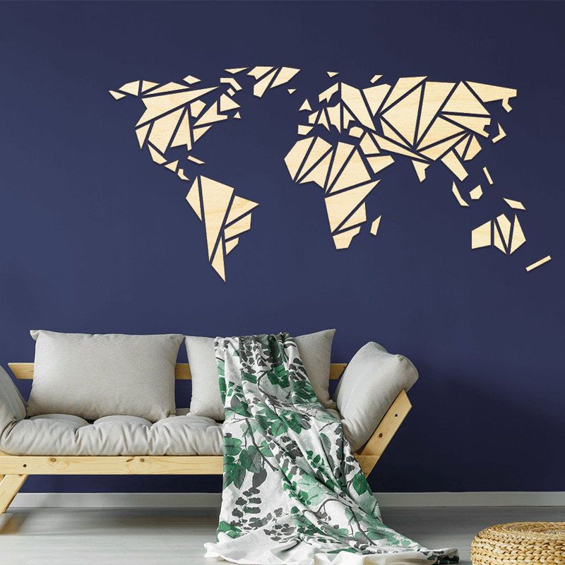 25 World Map Wall Art Designs Made From Wood In 2020 World Map Decor Map Wall Art World Map Wall