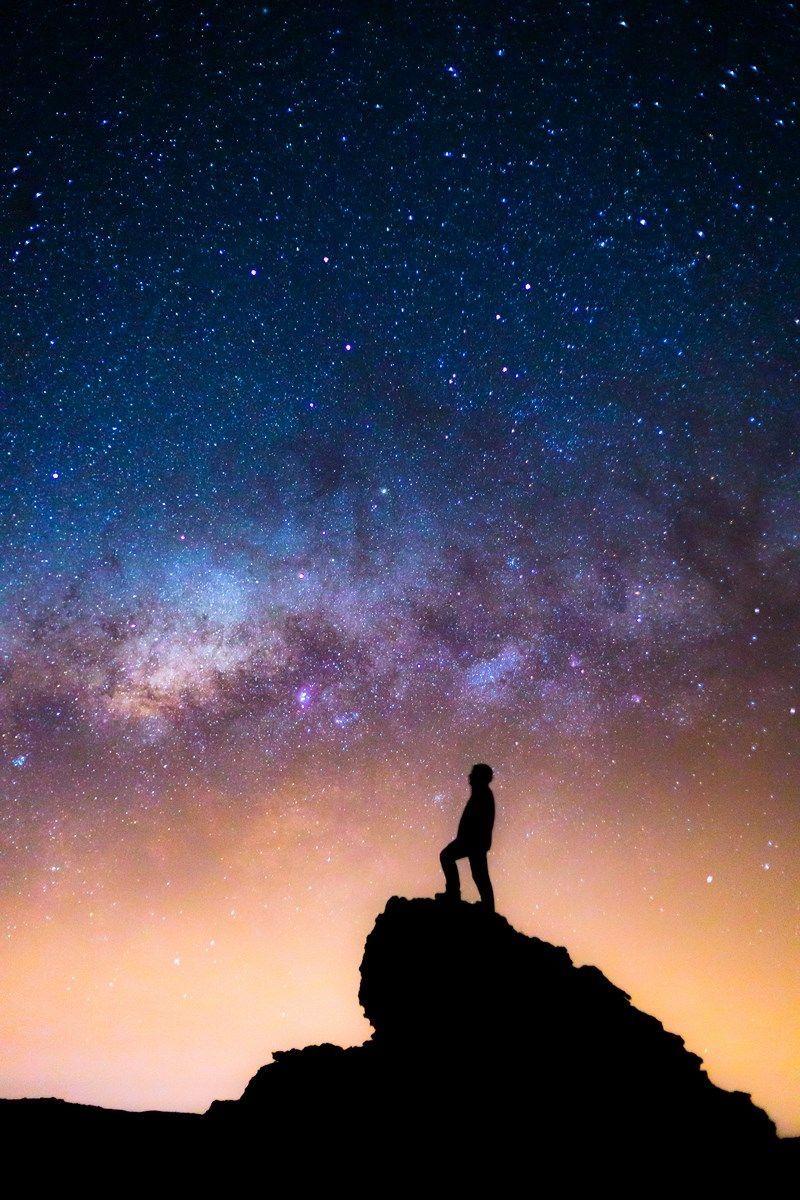 Pin By Liղհleɑհ On D E տiӏҽղե աօɾӏժ Beautiful Night Sky Night Skies Moon Photography