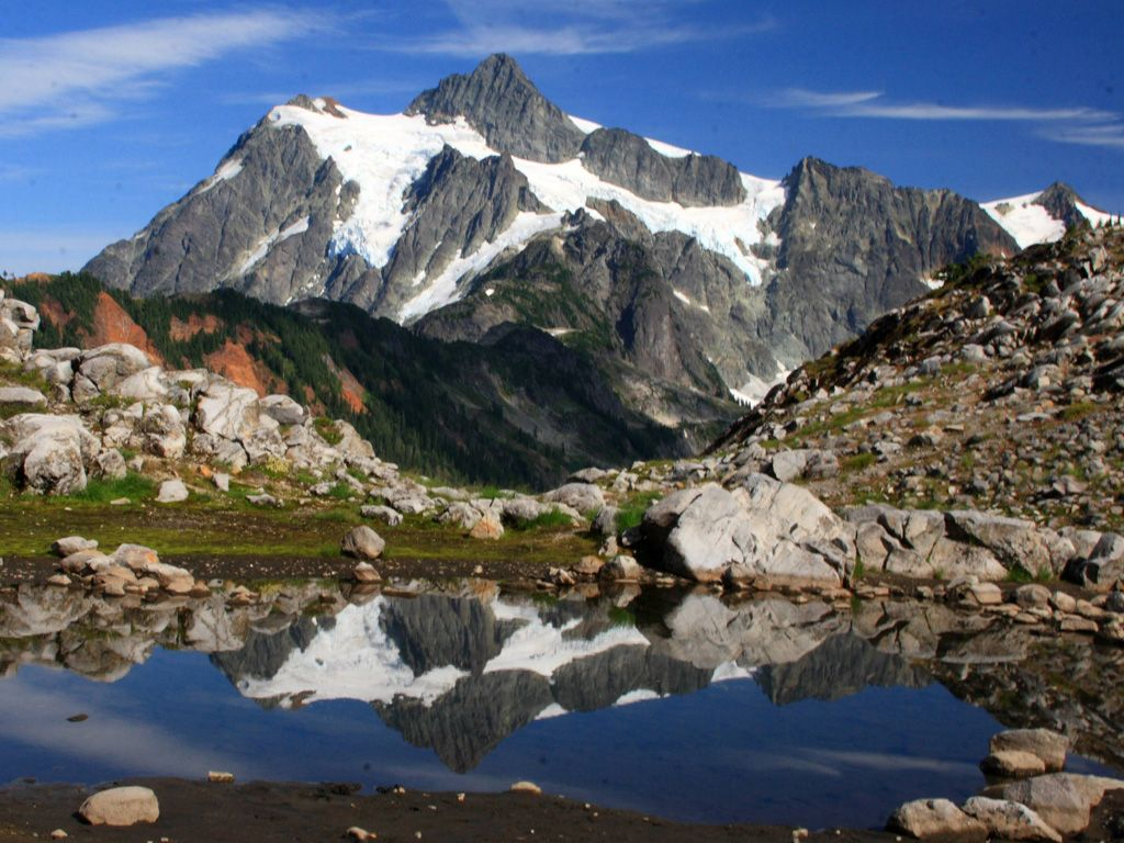 Wish List Lake Ann and Mt. Shuksan, Mt. Baker Wilderness