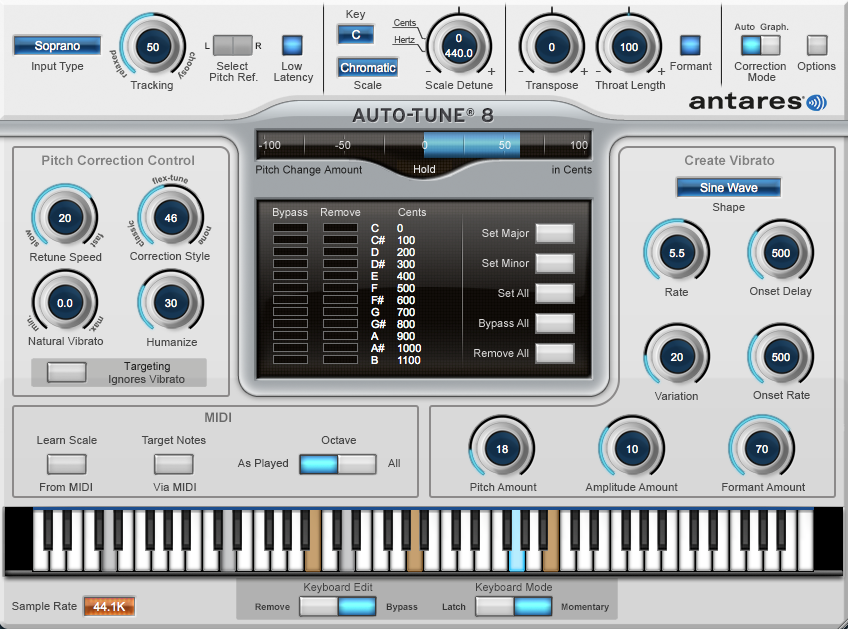 AutoTune Pro Tune, Home studio music, Digital audio
