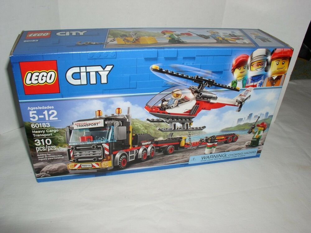 LEGO 60183 City Heavy Cargo Transport BRAND NEW SEALED