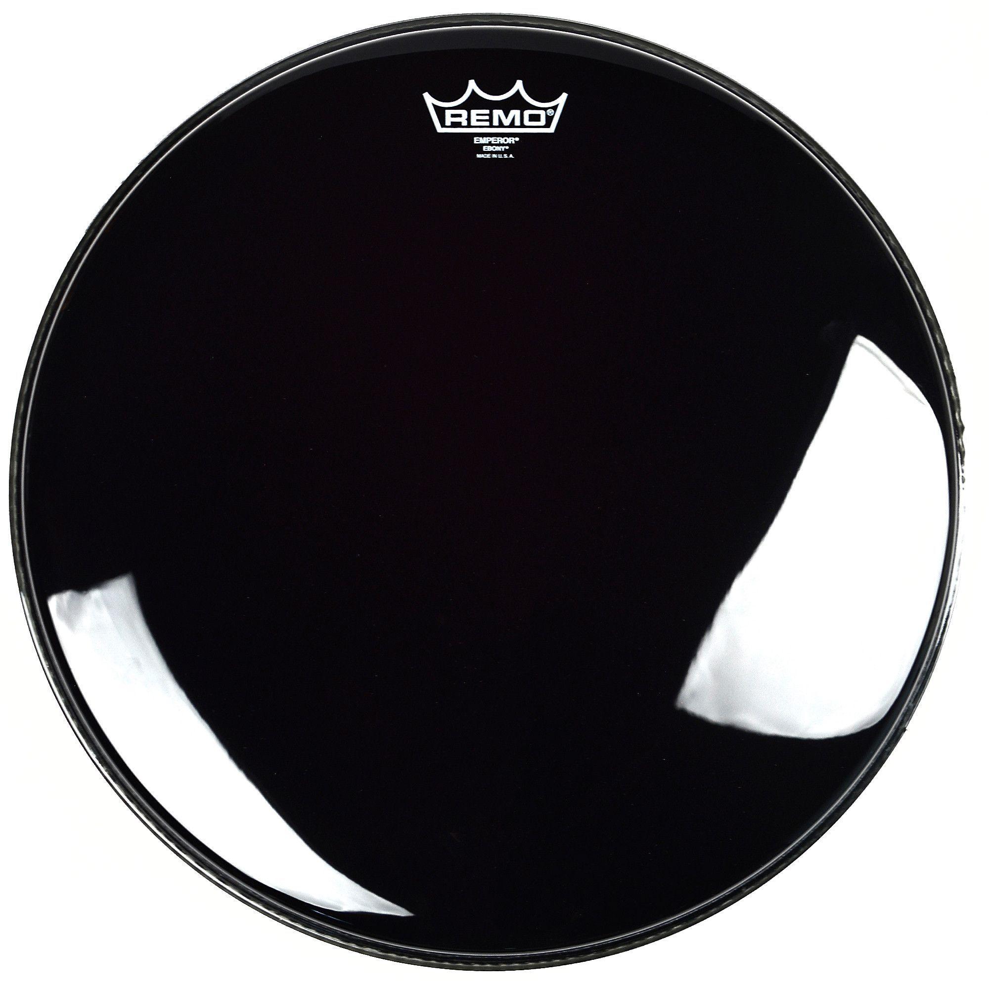 """Remo 16"""" Emperor Ebony Drum Head"""