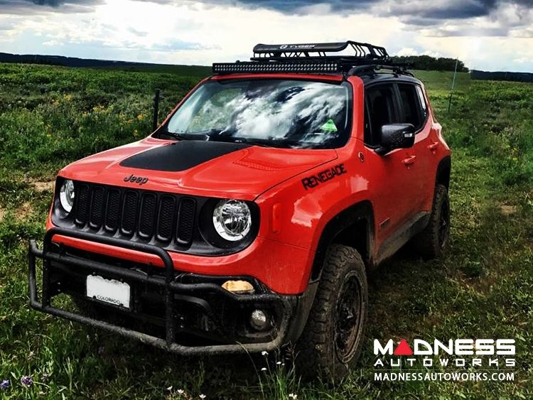 Jeep Renegade Front Bumper Bar By Madness Non Trailhawk Jeep