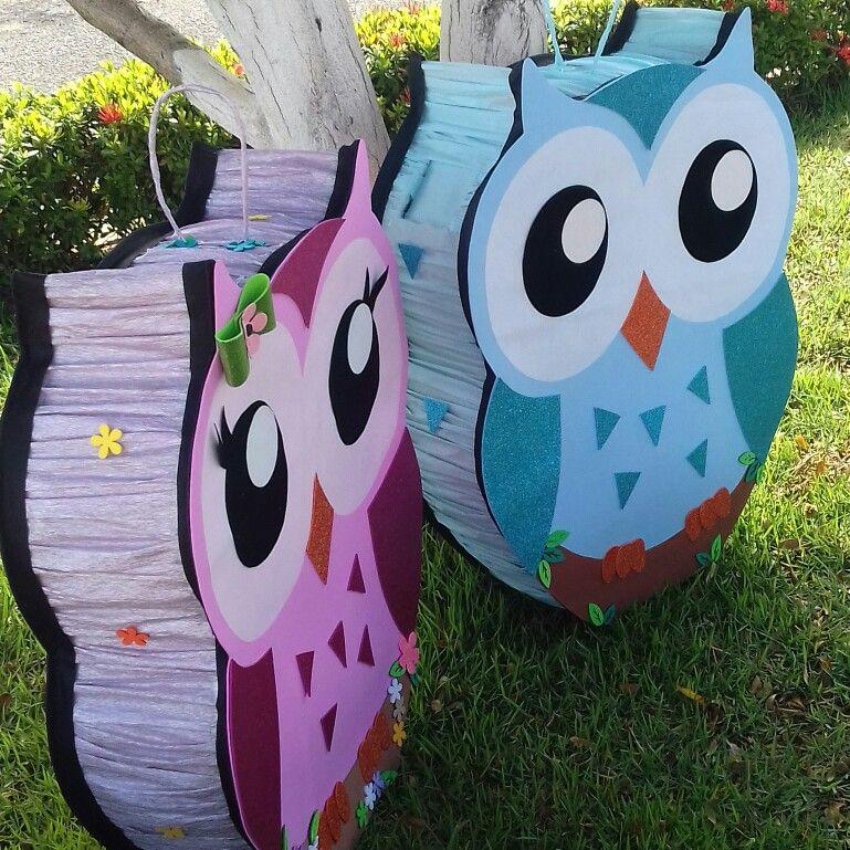 Piñata Búho En 2019 Fiestas Temáticas De Búho Piñata De