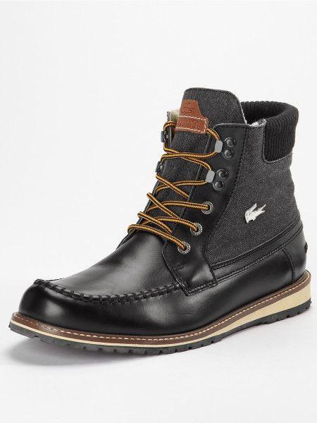 Lacoste Black Lousteau Mens Boots