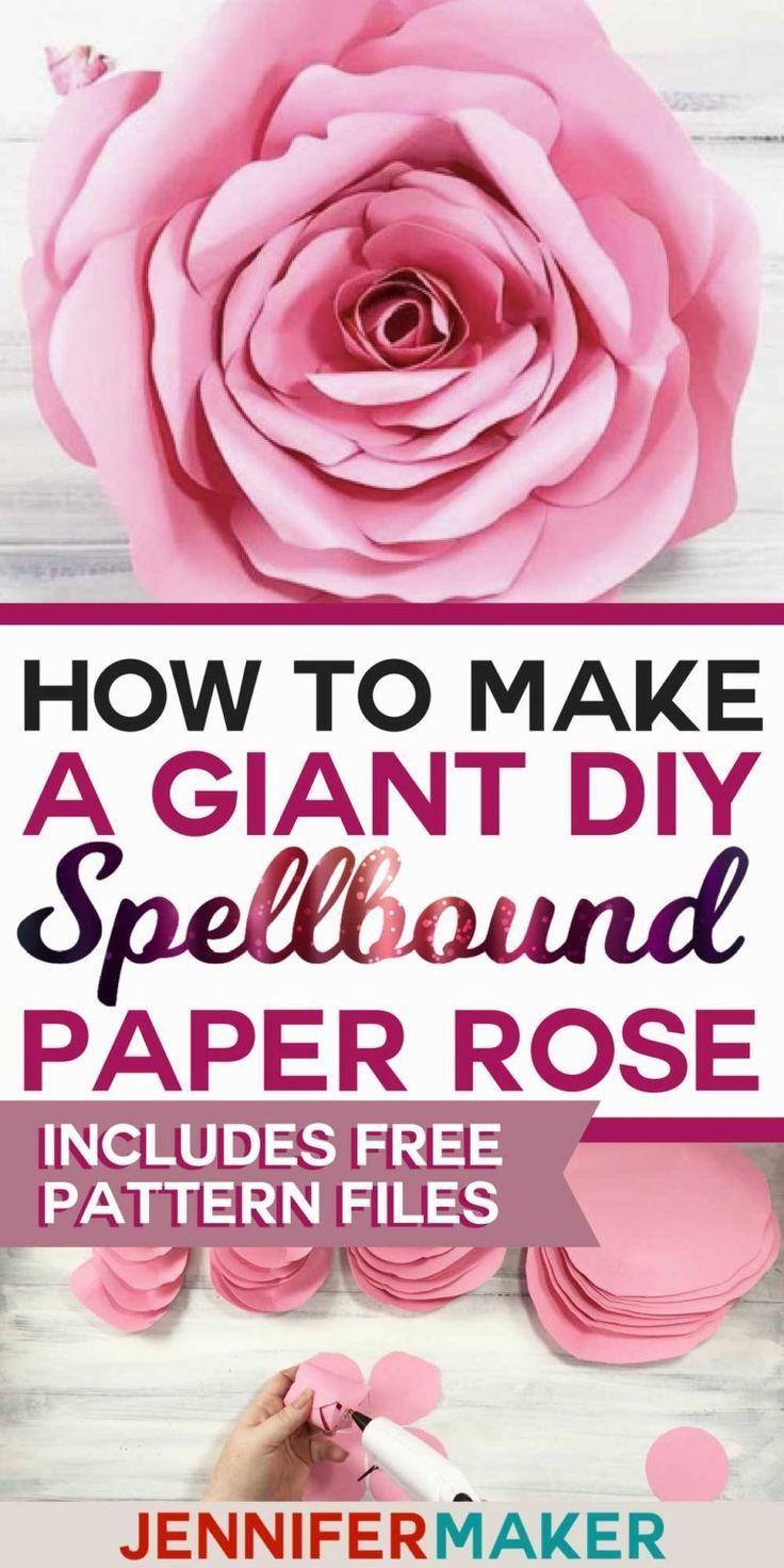 Giant Flower: Spellbound Rose - Every Petal is Unique! - Jennifer Maker