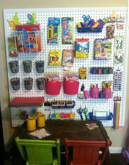 Ikea Organization Kids Peg Boards 22+ New Ideas in 2020 ...