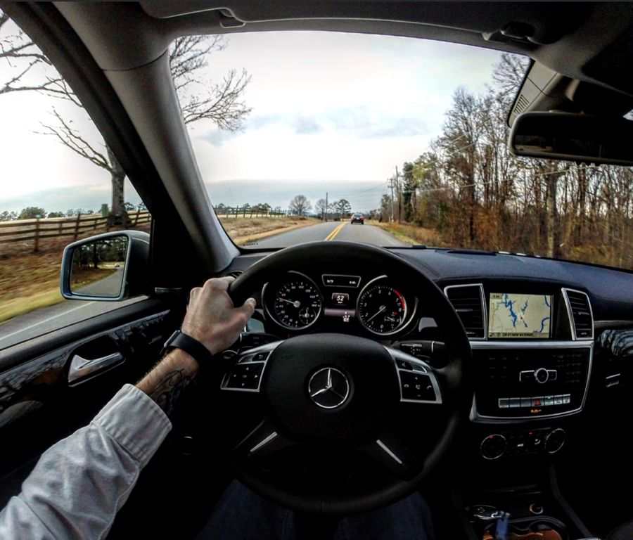 Mercedes Benz GL450 Interior