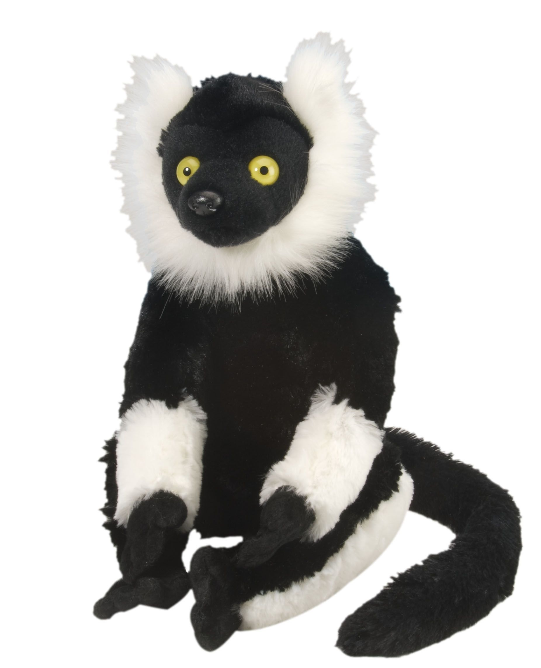Black & White Lemur Cuddlekins (Large) Products Plush
