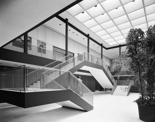 The Munson-Williams-Proctor Arts Institute by philly J © Ezra Stoller/Esto