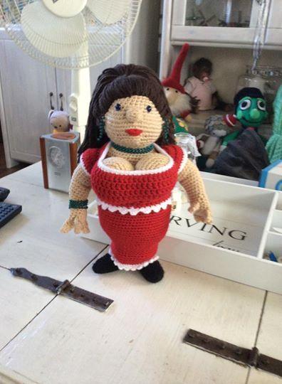Dikke Dame Breien En Haken Dikke Dames Crochet Dolls Crochet