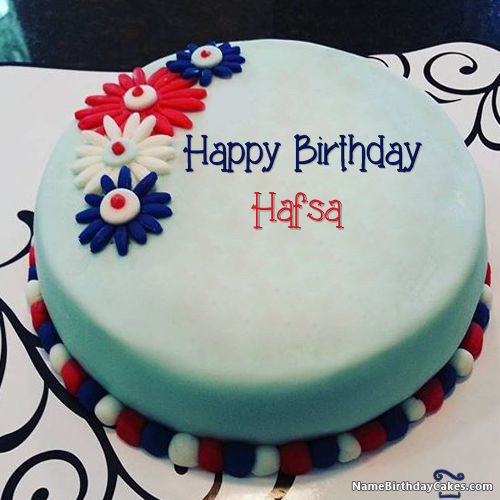 The name [hafsa] is generated on Happy Birthday Images  Download or