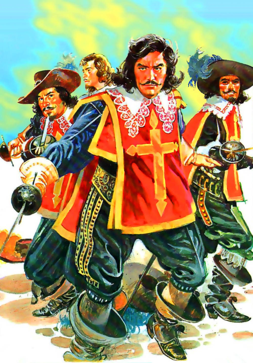 The three musketeers book history shiloh