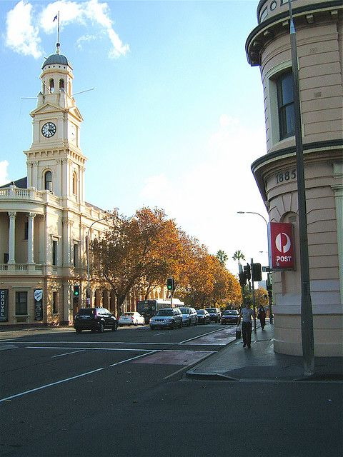 Paddington Town Hall was built in the late 19th century and features a distinctive example of European architecture in Sydney...      by dozafar, via Flickr