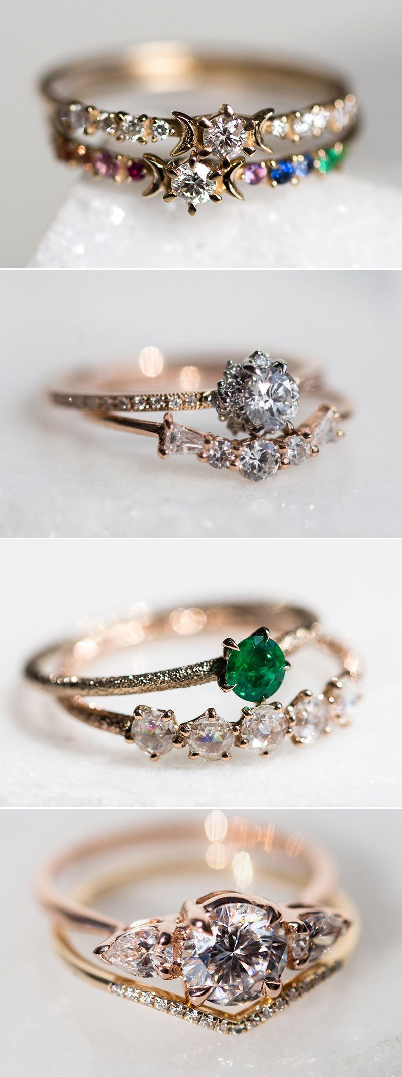 34 Alternative NonTraditional Engagement Rings